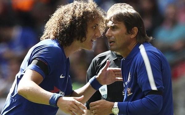 Luiz: Tôi đã ra đi nếu Conte ở lại - Bóng Đá