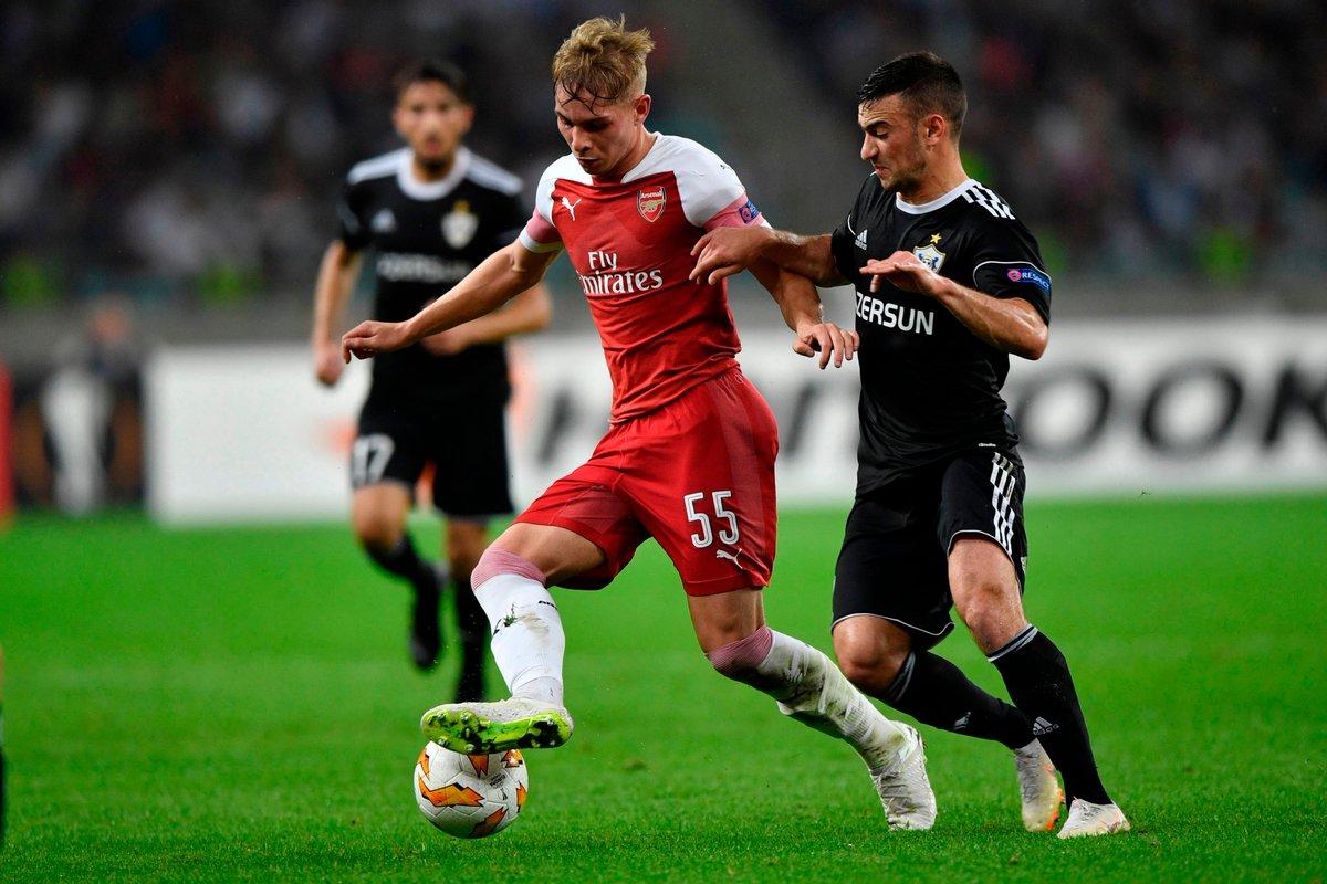 Kỷ lục gia Smith-Rowe và 5 điều bạn có thể đã bỏ lỡ Vòng 2 Europa League - Bóng Đá