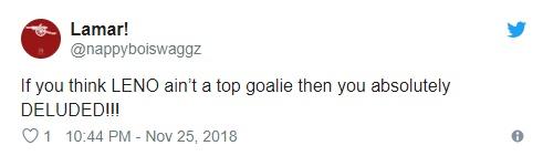 Fan Arsenal khen Leno - Bóng Đá