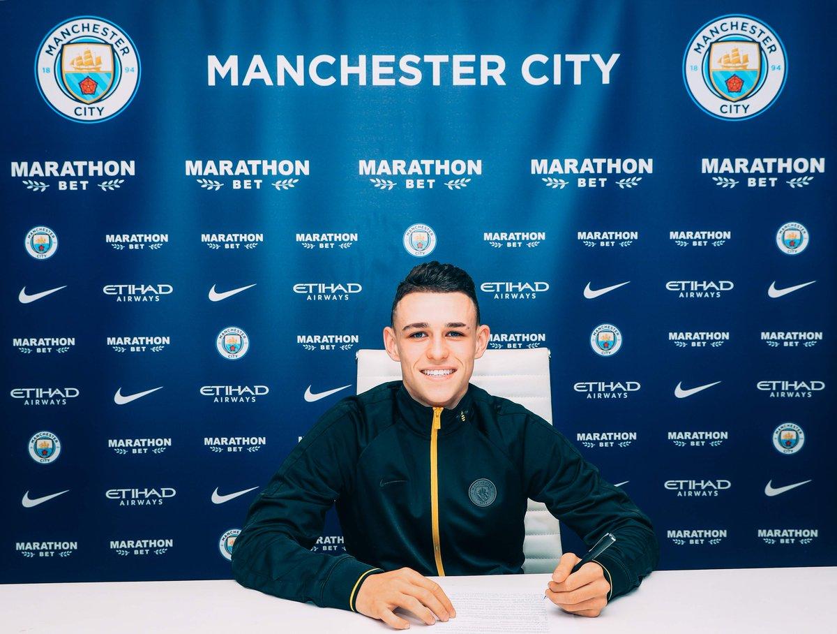 Man City ký Foden - Bóng Đá
