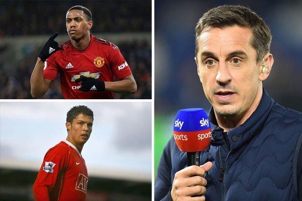 Neville ví Martial như Ronaldo - Bóng Đá