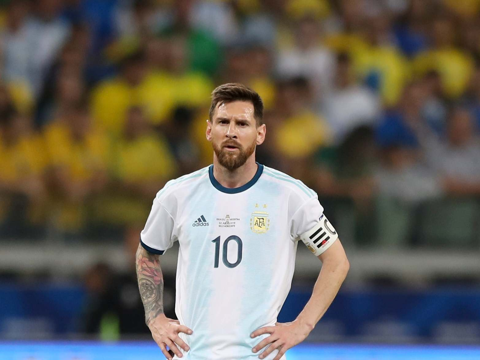 Messi needs to have more respect, says Brazil boss Tite - Bóng Đá