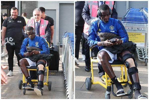 Bailly phải ngồi xe lăn khi về Man Utd - Bóng Đá