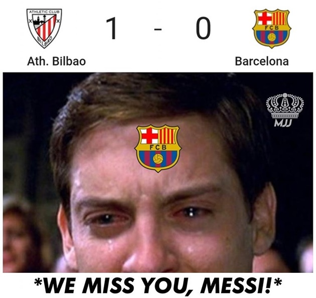 Ảnh chế Barca thua trận - Bóng Đá