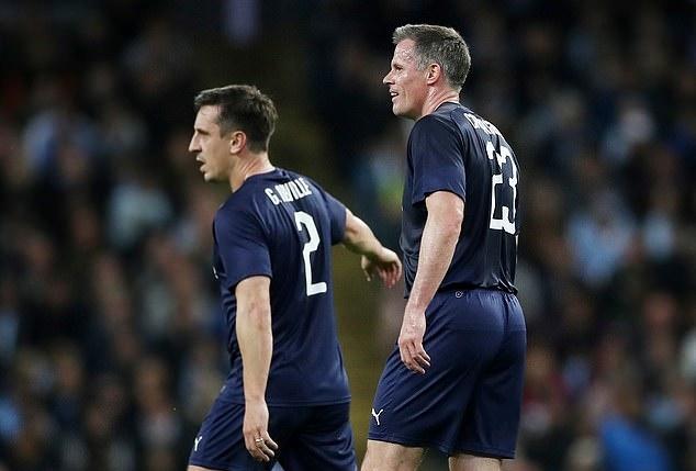 Neville nightmare, silky Scholes and AWOL Balotelli? The best of Vincent Kompany's testimonial - Bóng Đá