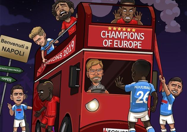 Ảnh chế Champions League - Bóng Đá
