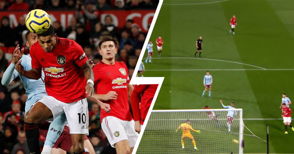 Man Utd were unsuccessful in their appeal to get Rashford credited for his header against Aston Villa - Bóng Đá