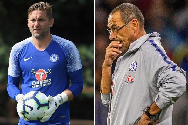 Rob Green reveals he stood up to Maurizio Sarri during a Chelsea team meeting - Bóng Đá