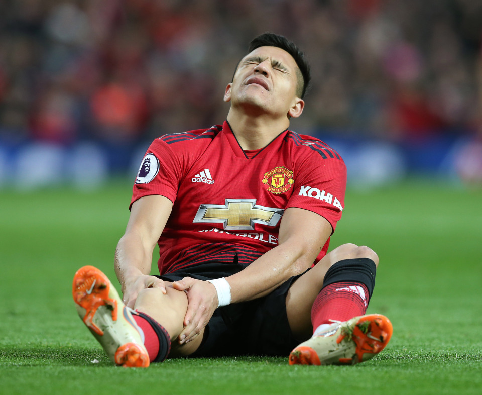 No recall clause in Alexis Sanchez's Inter loan. Man Utd paying him to play for someone else despite current injury problems.
