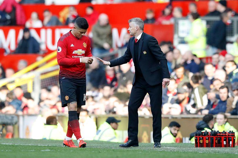Why Ole Gunnar Solskjaer confused Marcos Rojo before Manchester United exit - Bóng Đá