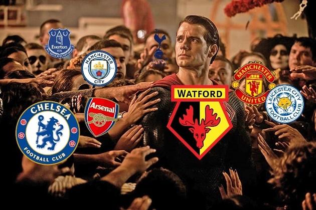 Ảnh chế Liverpool thua Watford - Bóng Đá