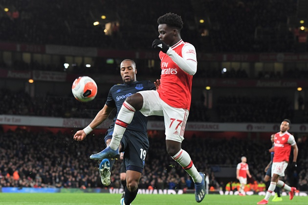 Troy Deeney singles out Arsenal's Bukayo Saka for special praise - Bóng Đá