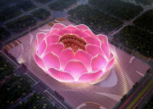 Ảnh SVĐ mới của Guangzhou Evergrande - Bóng Đá