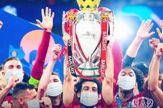 Ảnh chế Liverpool vô địch - Bóng Đá