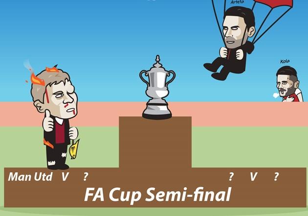 Ảnh chế tứ kết FA Cup - Bóng Đá
