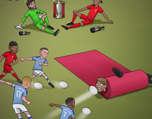 Ảnh chế vòng 32 Premier League - Bóng Đá