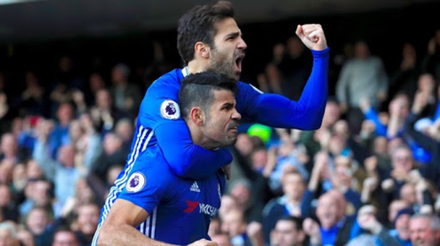 Cesc Fabregas reveals what Diego Costa said to convince Antonio Conte to play him at Chelsea - Bóng Đá