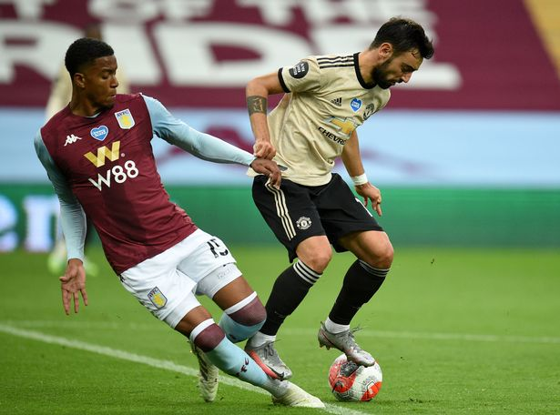 Man Utd star Bruno Fernandes defends himself after Aston Villa penalty controversy - Bóng Đá
