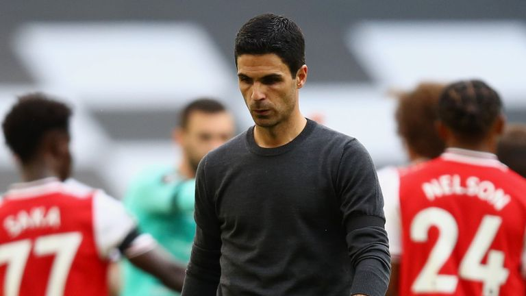 Jose Mourinho sends classy message to Mikel Arteta after Tottenham beat Arsenal in the north London derby    - Bóng Đá