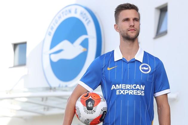 Albion make Dutch international their second summer signing - Bóng Đá