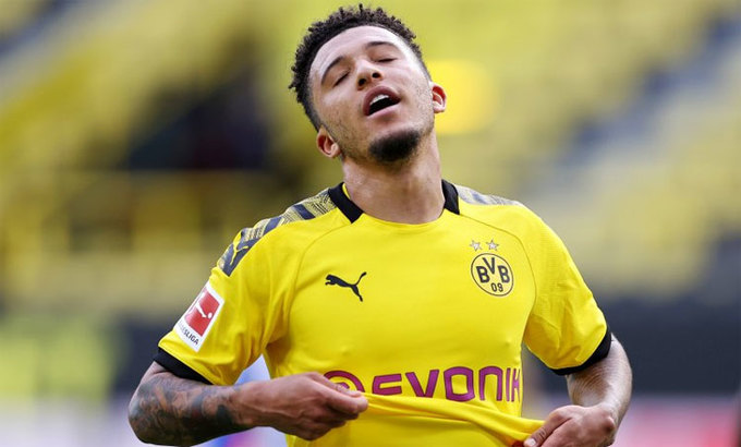 Borussia Dortmund issue statement on Man Utd move for Jadon Sancho - Bóng Đá