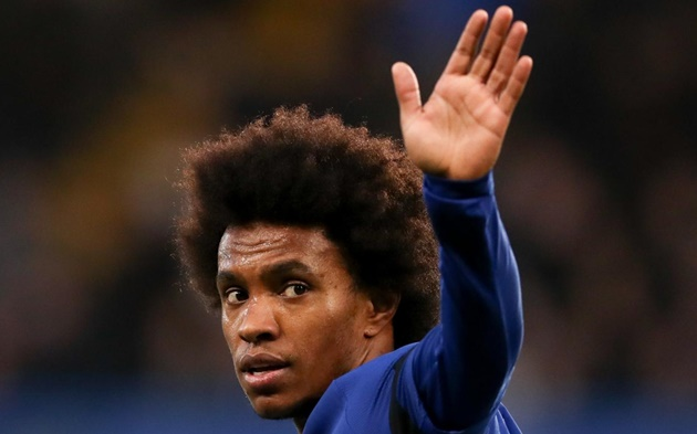 Cesc Fabregas sends message to Willian as Arsenal close in on free transfer - Bóng Đá