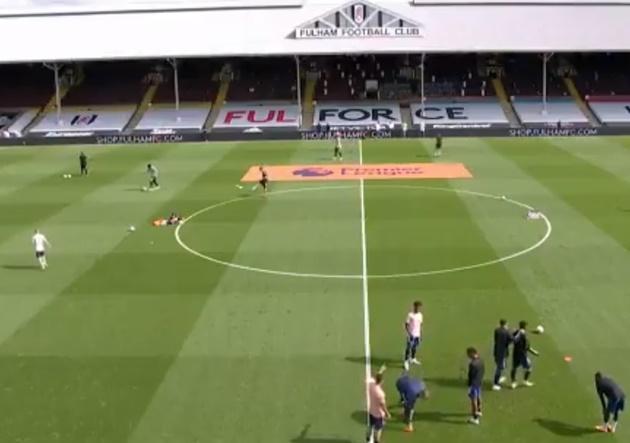 Dani Ceballos and Eddie Nketiah involved in pre-match bust up before Fulham fixture - Bóng Đá