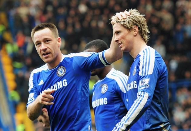 Đôi hình kết hợp Liverpool - Chelsea của Torres - Bóng Đá