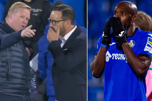 Ronald Koeman hits out at Getafe disrespect after Barcelona defeat - Bóng Đá