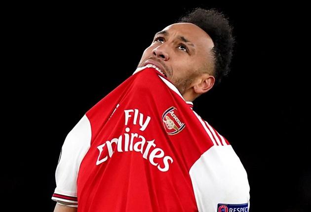 Aubameyang's Arsenal decline since signing £350k-a-week deal with NO goals and far fewer shots - Bóng Đá