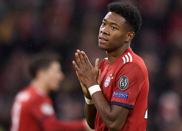 'A slap in the face' - Alaba opens up on moment Bayern told him they wanted to use him as part of a transfer - Bóng Đá
