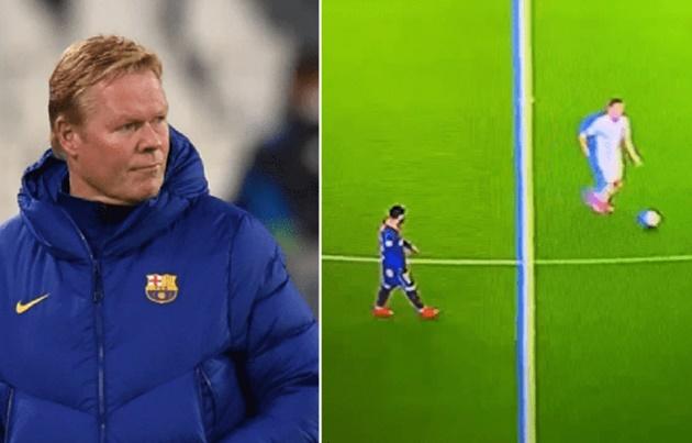 Barcelona boss Ronald Koeman defends Lionel Messi over 'walking around' video/ - Bóng Đá