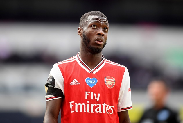 Mikel Arteta to decide Nicolas Pepe's fate in private meeting with Arsenal record signing - Bóng Đá