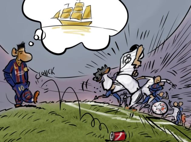 Cười té khói với loạt ảnh chế Barca thua Atletico - Bóng Đá
