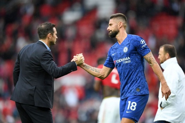 Frank Lampard responds to Olivier Giroud over Chelsea transfer ultimatum    - Bóng Đá
