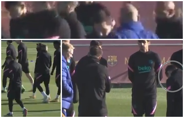 Lionel Messi: Video of Barcelona star looking lonely in training has emerged - Bóng Đá