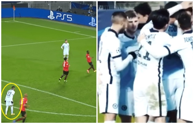 Hakim Ziyech spotted warning Chelsea teammate Timo Werner about missed chance against Rennes    - Bóng Đá