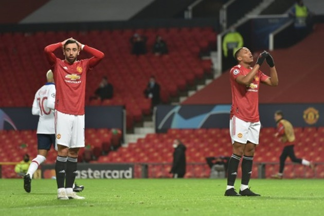 Ole Gunnar Solskjaer responds to Anthony Martial criticism after Man Utd's loss to PSG - Bóng Đá