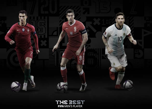 FIFA The Best shortlist - Bóng Đá