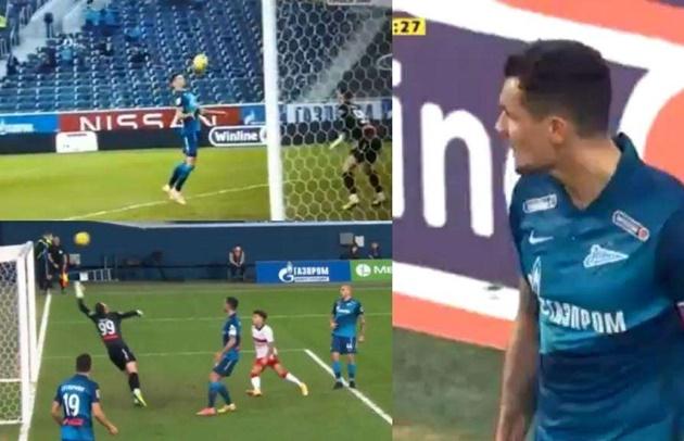 Watch ex-Liverpool ace Dejan Lovren score comical own goal as he lobs keeper with his chest for Zenit St-Petersburg - Bóng Đá