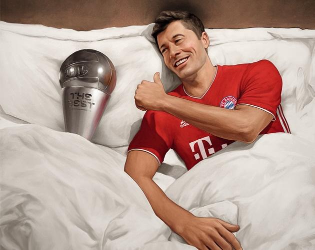 Cười té khói với loạt ảnh chế FIFA The Best - Bóng Đá