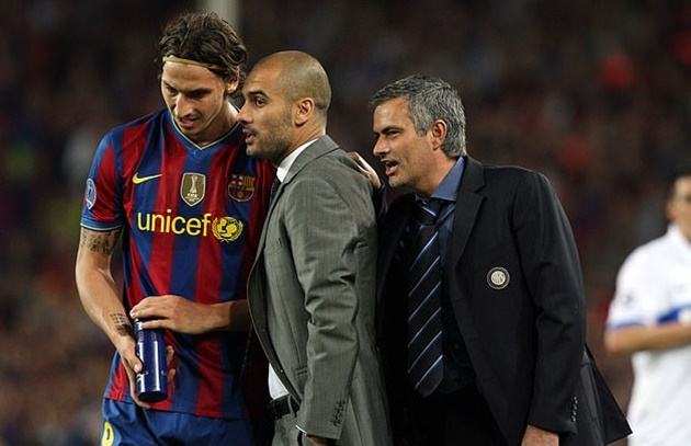 Zlatan Ibrahimovic reignites his long-running feud with Pep Guardiola as AC Milan striker claims 'things turned sour' for him at Barcelona  - Bóng Đá