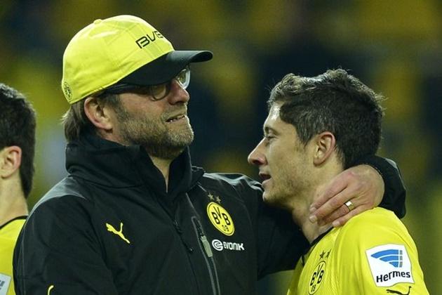 Robert Lewandowski explains why Liverpool boss Jurgen Klopp is a