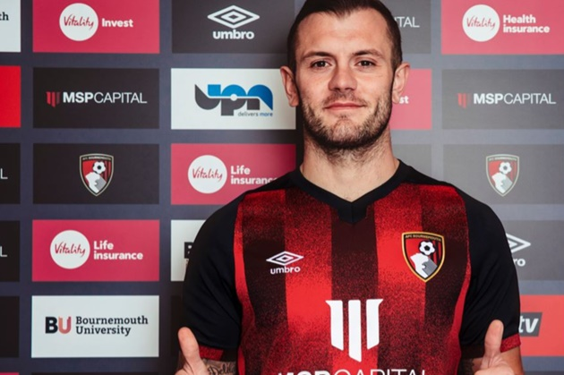 Wilshere joins Bournemouth on deal until end of the season - Bóng Đá