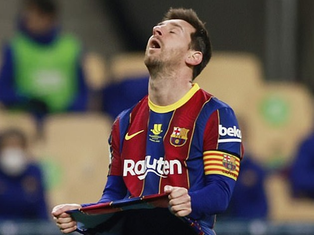 Messi apologised to the dressing room after Supercopa defeat - Bóng Đá