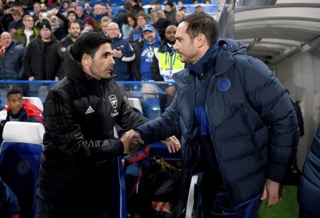 Arsenal boss Mikel Arteta sends message to Frank Lampard over Chelsea struggles - Bóng Đá