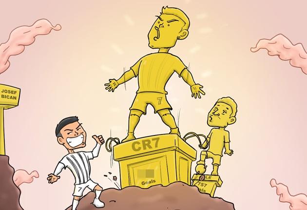 Cười té khói với loạt ảnh chế Ronaldo phá kỷ lục ghi bàn - Bóng Đá