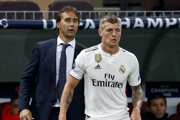 Toni Kroos was really hit by the sacking of Julen Lopetegui - Bóng Đá