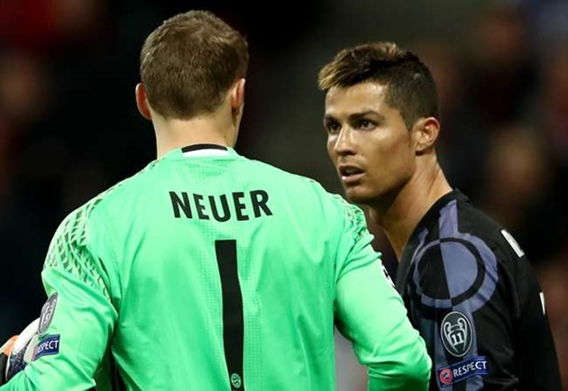 Ronaldo holds no fear for Neuer as Bayern Munich goalkeeper embraces 'special challenge' - Bóng Đá