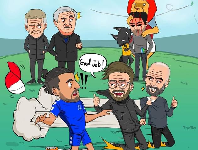 Cười té khói với loạt ảnh chế vòng 23 Premier League - Bóng Đá